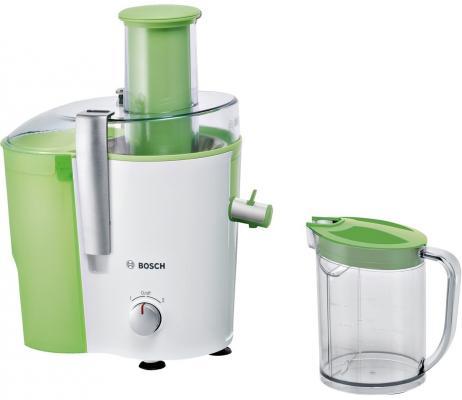 Соковыжималка Bosch MES25G0 700 Вт пластик белый зелёный