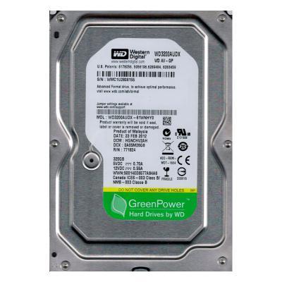 "Жесткий диск 3.5"" 320 Gb 7200rpm 32Mb cache Western Digital SATA WD3200AUDX"