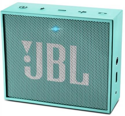 Портативная акустика JBL GO голубой JBLGOTEAL