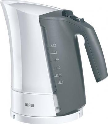 Чайник Braun WK 500 Onyx 2200 Вт белый 1.7 л пластик чайник электрический braun wk 500 onyx