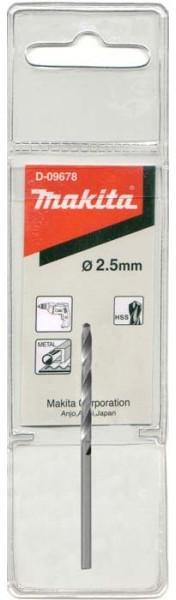 цена на Сверло Makita D-09678 2.5х30х57мм по металлу