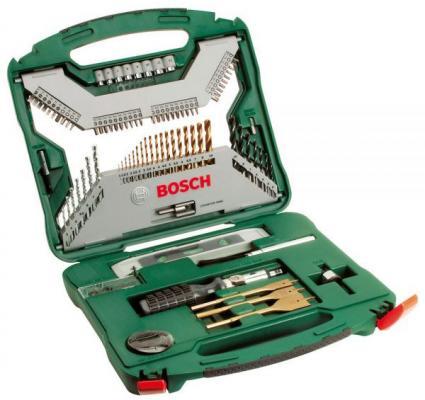 Набор инструментов Bosch X-Line Titanium 100 предметов 2607019330 набор инструментов bosch v line 48 х6 в дисплее 2607017303