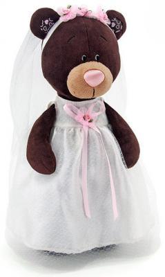 Мягкая игрушка медведь Orange Milk невеста текстиль коричневый 30 см М5041/30