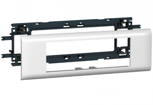Суппорт Legrand Mosaic для DLP кабелей с шириной крышки 65мм 6 модулей L10956