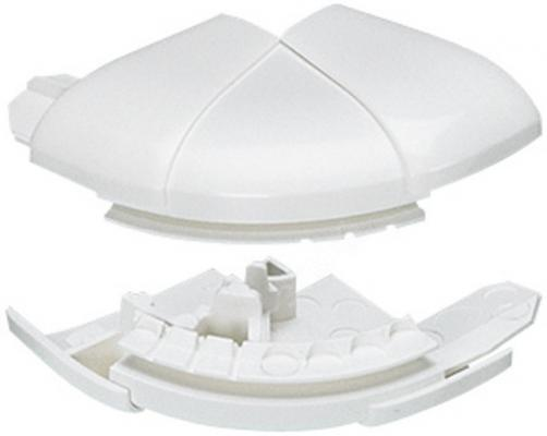 Угол внешний Legrand переменный от 60° до 120°для кабель-каналов DLP 35Х80/105 белый L10621