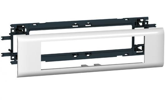 Суппорт Legrand Mosaic для DLP кабелей с шириной крышки 65мм 8 модулей 10958