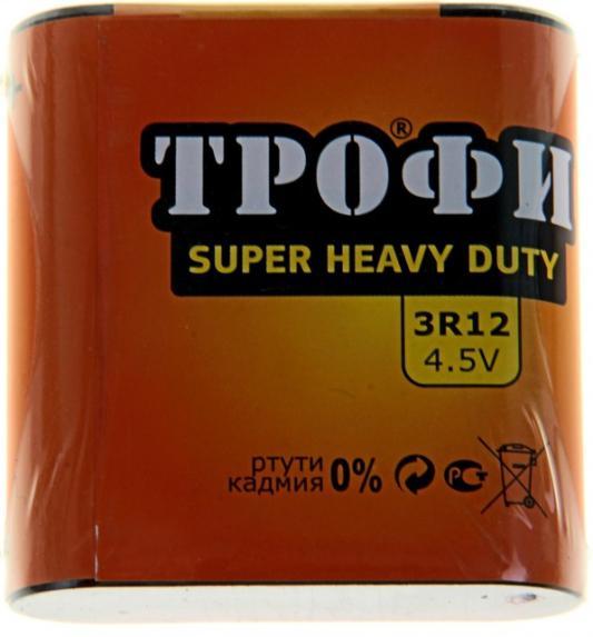 Батарейка ТРОФИ 3R12-1S 1 шт