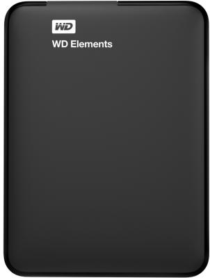 "Внешний жесткий диск 2.5"" USB3.0 3 Tb Western Digital Elements SE Portable WDBU6Y0030BBK-EESN черный"