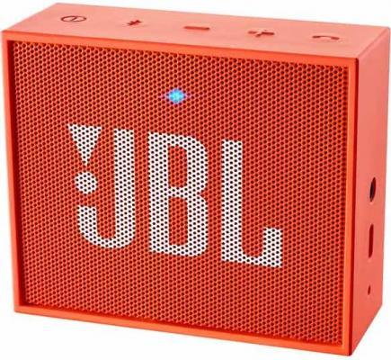 Портативная акустика JBL GO оранжевый JBLGOORG гарнитура jbl e55bt белый jble55btwht
