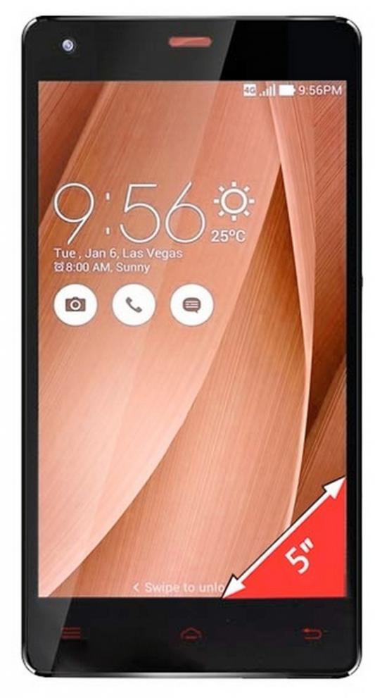 """Смартфон GINZZU S5020 черный 5"""" 8 Гб LTE Wi-Fi GPS"""