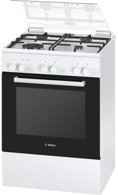 Газовая плита Bosch HGA23W125R бело-черный