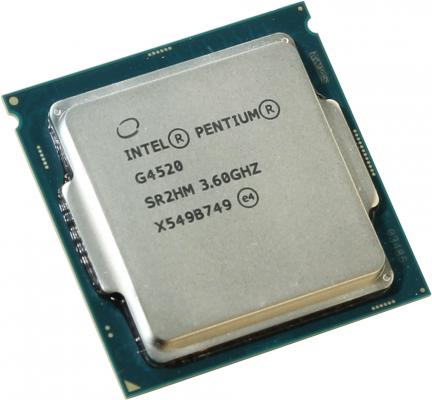 Процессор Intel Pentium G4520 3.6GHz 3Mb Socket 1151 BOX процессор intel pentium g620 cpu 1155 h61