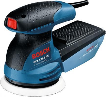Эксцентриковая шлифмашина Bosch GEX 125-1 AE 250Вт 125мм 0601387501 эксцентриковая шлифмашина bosch advancedorbit 18 [06033d2100]