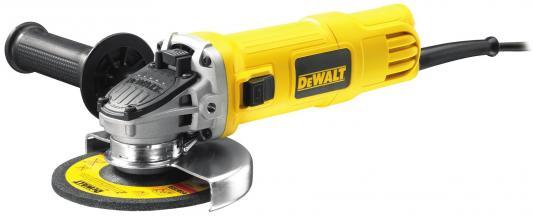 Углошлифовальная машина DeWalt DWE 4151 125 мм 900 Вт цена