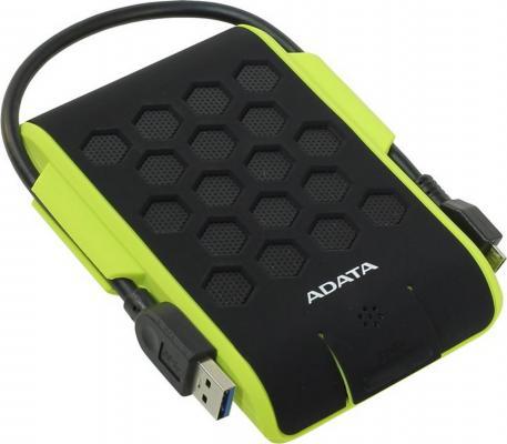 "Внешний жесткий диск 2.5"" USB3.0 1Tb A-Data HD720 AHD720-1TU3-CGR черно-зеленый"