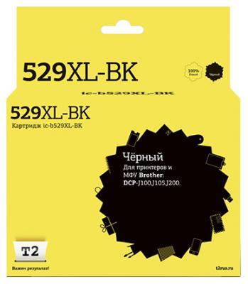 Картридж T2 IC-B529XL-BK для для Brother DCP-J100/J105/J200 1300стр Черный