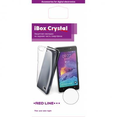 Накладка силикон iBox Crystal для Samsung Galaxy A7 2016 (прозрачный) чехол для samsung galaxy a7 2016 sm a710f ibox crystal силикон прозрачный