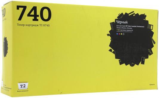 Картридж T2 CE740A для HP CLJ Professional CP5225/5225n/5225dn 7000стр Черный