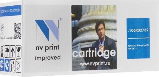 Картридж NV-Print 106R02732 для Xerox Phaser 3610 черный 25300стр тонер картридж easyprint lx 3610 для xerox phaser 3610n 3610dn workcentre 3615dn 14100 стр с чипом 106r02723