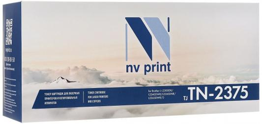 Картридж NV-Print TN-2375T для Brother HL-L2300/2305/2320/2340/2360 черный 2600стр flower candles print waterproof shower curtain
