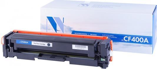 Картридж NV-Print CF400A для HP Laser Jet Pro M252 MFP M277 черный 1500стр картридж nv print hp cf226a для laserjet pro m402 mfp m426 3100k