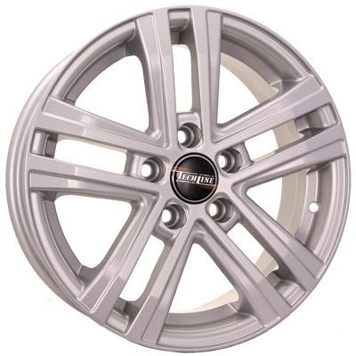 Диск Tech Line 545 6x15 5x100 ET40 Silver колесные диски tech line 602 7х16 5х114 3 d67 1 ет40 bd