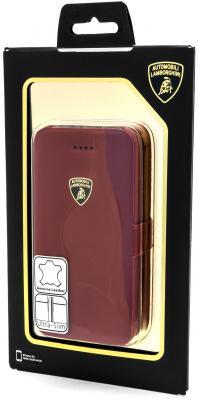 Чехол-книжка iMOBO Lamborghini Diablo для iPhone 5C красный стоимость