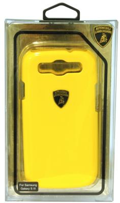 Пластиковый чехол Lamborghini Diablo для Samsung Galaxy S3 (желтый) diablo 3 ключ 900