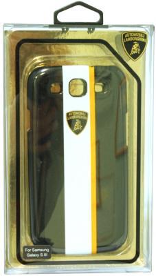 Пластиковый чехол Lamborghini Gallardo-D1 для Samsung Galaxy S3 (черный) модель машины bburago 1 43 lamborghini gallardo polizia 18 30001 14