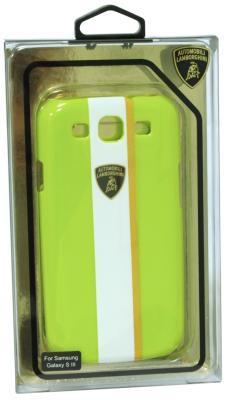Пластиковый чехол Lamborghini Gallardo-D1 для Samsung Galaxy S3 (зеленый)
