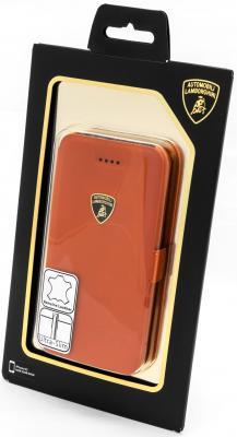 Чехол-книжка iMOBO Lamborghini Diablo для iPhone 5C оранжевый стоимость