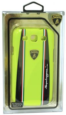 цена на Пластиковый чехол Lamborghini Superleggera-D1 для Samsung Galaxy S3 (зеленый)