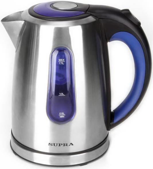 Чайник Supra KES-1738 2200 Вт серебристый 1.7 л нержавеющая сталь