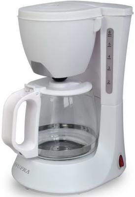 Кофеварка Supra CMS-0602 белый