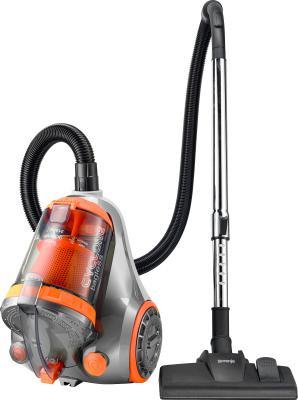 Пылесос Gorenje VC2101SCY без мешка сухая уборка 2100/400Вт серо-оранжевый пылесос gorenje vc1615g