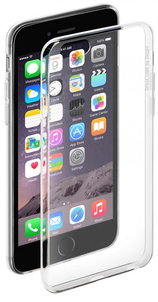 Накладка Deppa 85202 для iPhone 6 iPhone 6S прозрачный + плёнка