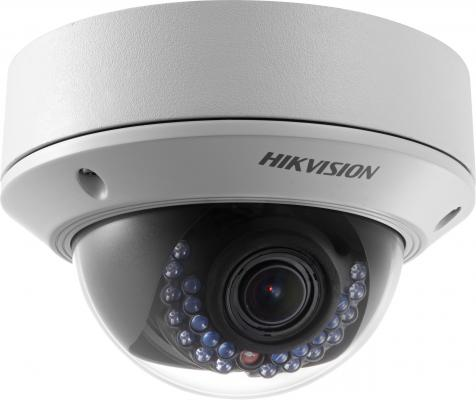 "лучшая цена Камера IP Hikvision DS-2CD2722FWD-IS CMOS 1/2.8"" 1920 x 1080 H.264 MJPEG RJ-45 LAN PoE белый"