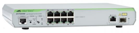 Коммутатор Allied Telesis AT-FS909M-50 управляемый 8 портов 10/100Mbps