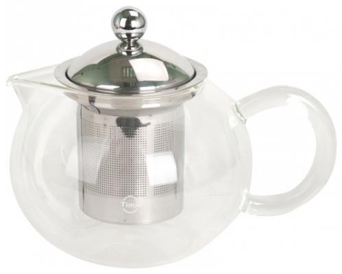 Чайник заварочный Tima TB 700 прозрачный 0.7 л стекло