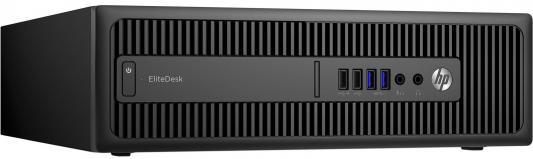 Системный блок HP EliteDesk 800 G2 SFF i3-6100 3.7GHz 4Gb 500Gb HD530 DVD-RW Win7Pro Win10Pro черный T4J47EA