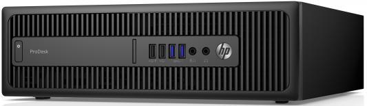 Системный блок HP ProDesk 600G2 SFF i5-6500 3.2GHz 4Gb 1Tb HD530 DVD-RW Win7Pro Win10Pro клавиатура мышь черный P1G88EA