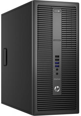 Системный блок HP EliteDesk 800 G2 i5-6500 3.2GHz 4Gb 1Tb HD530 DVD-RW Win7Pro Win10Pro клавиатура мышь черный P1H06EA