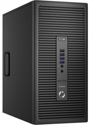 Системный блок HP ProDesk 600G2 MT i5-6500 3.2GHz 4Gb 1Tb HD530 DVD-RW Win7Pro Win10Pro клавиатура мышь черный P1G85EA