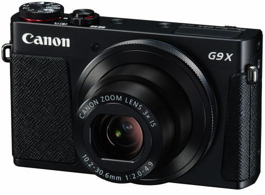 Фотоаппарат Canon PowerShot G9 X черный