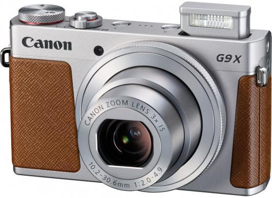 Фотоаппарат Canon PowerShot G9 X серебристый