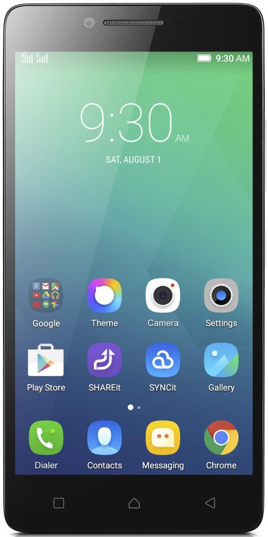 "Смартфон Lenovo A6010 Plus белый 5"" 16 Гб LTE Wi-Fi GPS PA220103RU"
