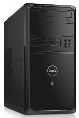 Системный блок DELL Vostro 3900 MT G1840 2.8GHz 4Gb 500Gb Intel HD DVD-RW Linux черный 3900-8590