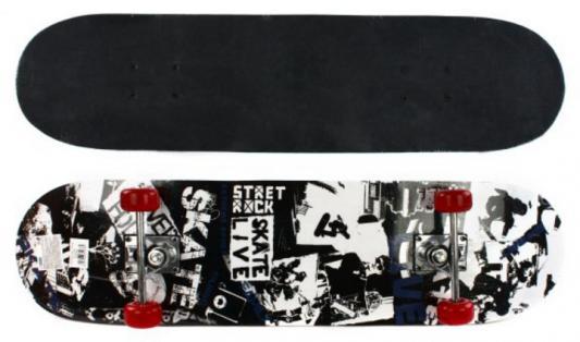 Скейтборд Street 79х20 см, PVC колеса 635078