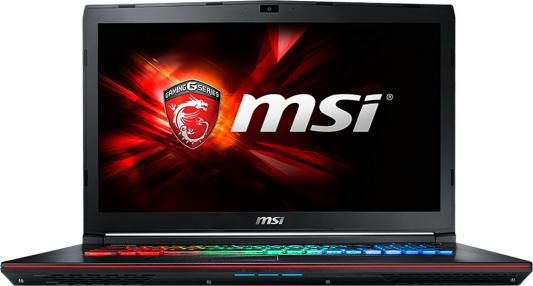 "Ноутбук MSI GE72 6QE-269RU 17.3"" 1920x1080 Intel Core i5-6300HQ 9S7-179541-269"