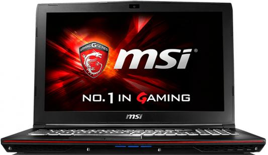 "Ноутбук MSI GP62 6QF-466RU Leopard Pro 15.6"" 1920x1080 Intel Core i7-6700HQ 9S7-16J522-466"